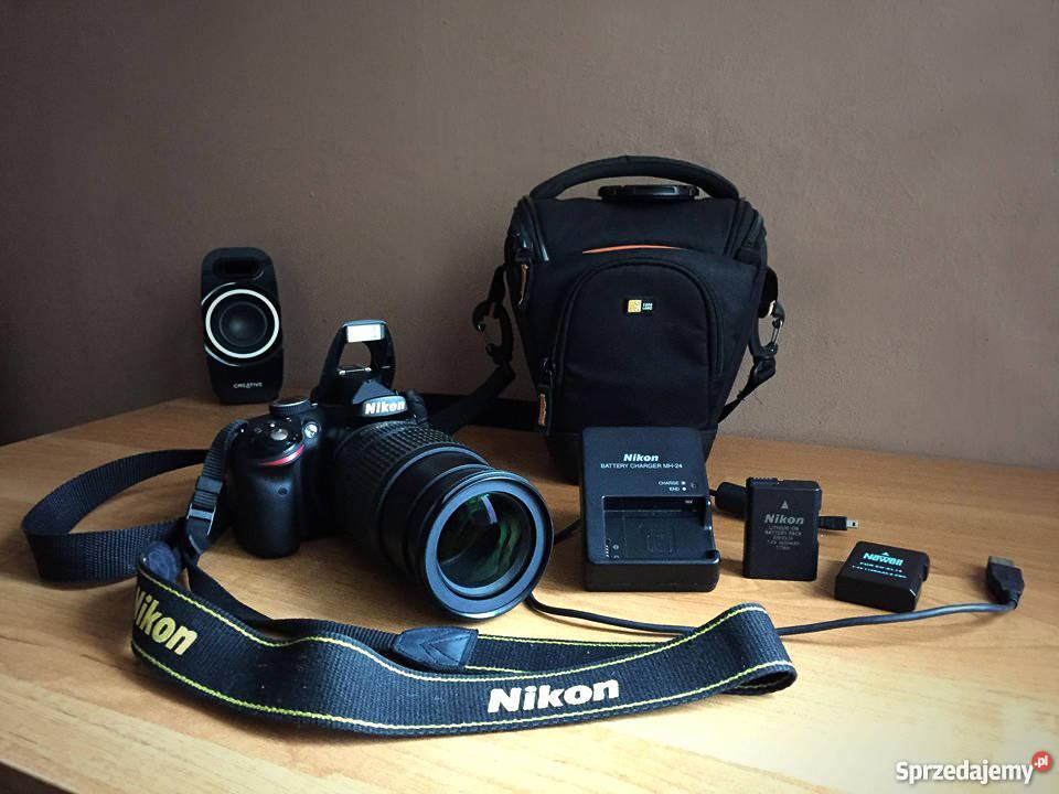 Wybitny Nikon D3200 + Nikkor 18-105 VR+Torba+osprzęt Znakomity stan KU87