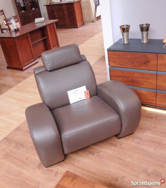 Fotel Rosso naturalna skóra /Etap Sofa/