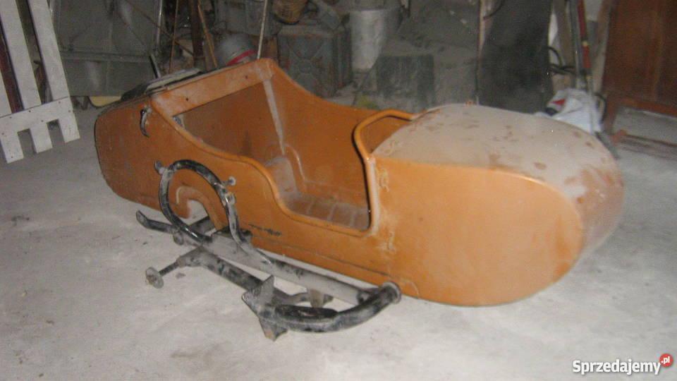 Przyczepka motocyklowa, wózek boczny.