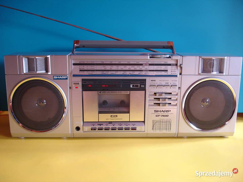 Radiomagnetofon SHARP GF-7500