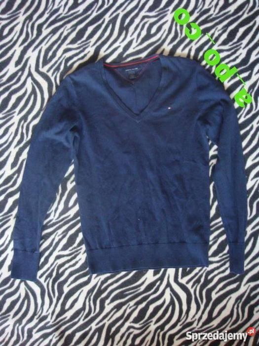 0caa9b61b10fa granatowy sweter Tommy Hilfiger XS Mielec - Sprzedajemy.pl