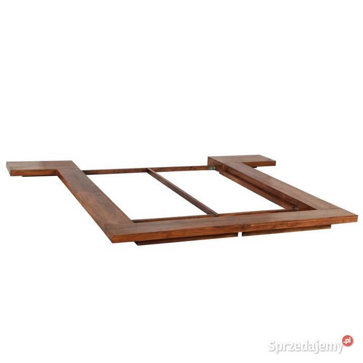 vidaXL Rama łóżka, futon w japońskim stylu, lite 245649