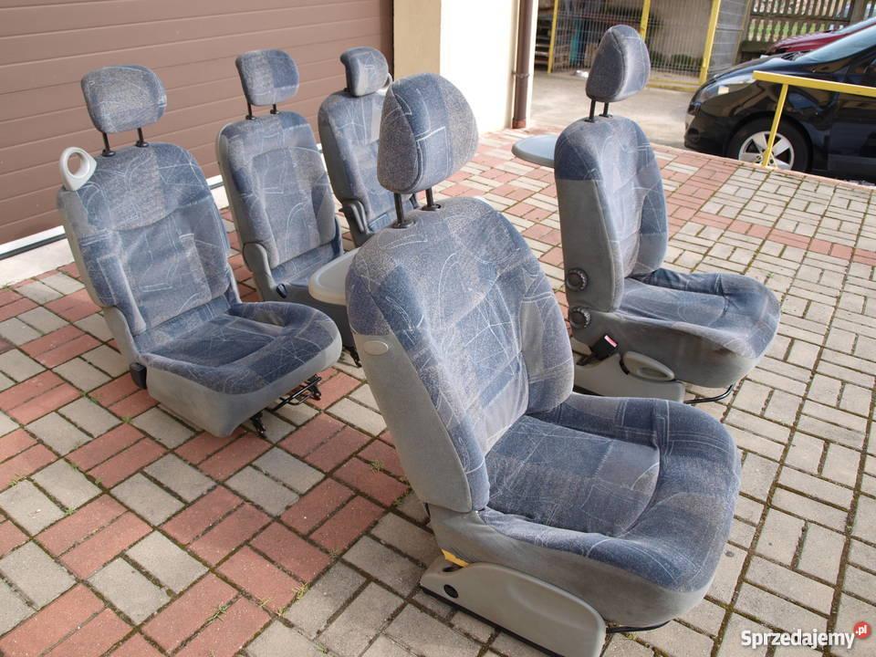 Renault Scenic Fotele Komplet 99 2003r