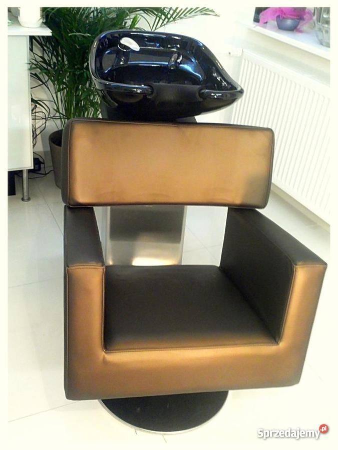 Myjnia fryzjerska fotel fryzjerski Meble fryzjer pomorskie Gdynia sprzedam