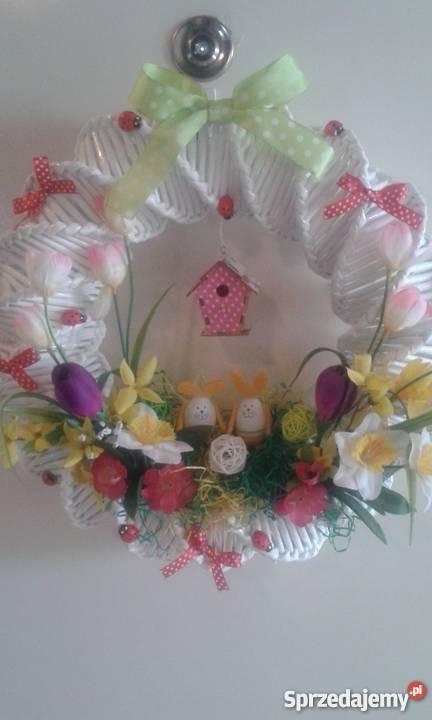 Wielkanocne Ozdobywianek Na Drzwi Zieleniewo Sprzedajemypl