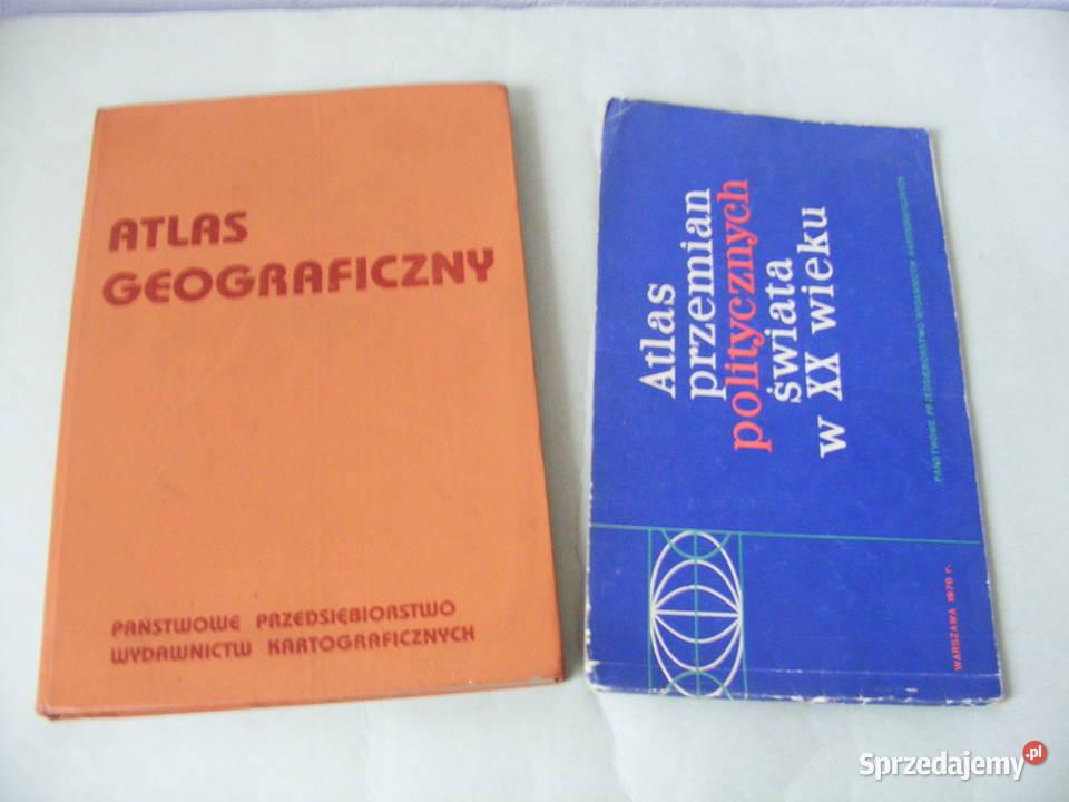 Atlas przemian politycznych świata Atlas geograficzny Górski