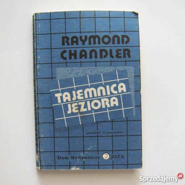 kryminał Tajemnica Jeziora Raymond Chandler Proza i poezja Katowice