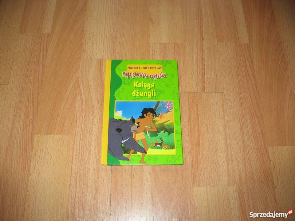Księga dżungli Moja pierwsza czytanka KSIĄŻKA Chorzów sprzedam