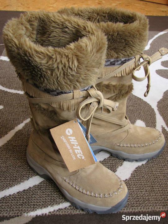 za kilka dni przystępna cena buty do biegania Buty skórzane kozaki śniegowce zimowe Hi-Tec Zermatt 200 HPi