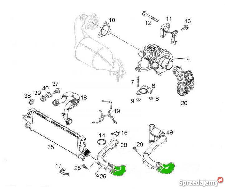 rura w u0104 u017b turbo opel vivaro 1 9 cdti 2 0 tdci bielsko-bia u0142a