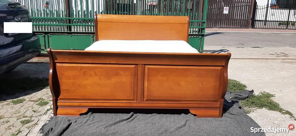 łóżko łoże Małżeńskie Bydgoskie Meble 160x200 Materac