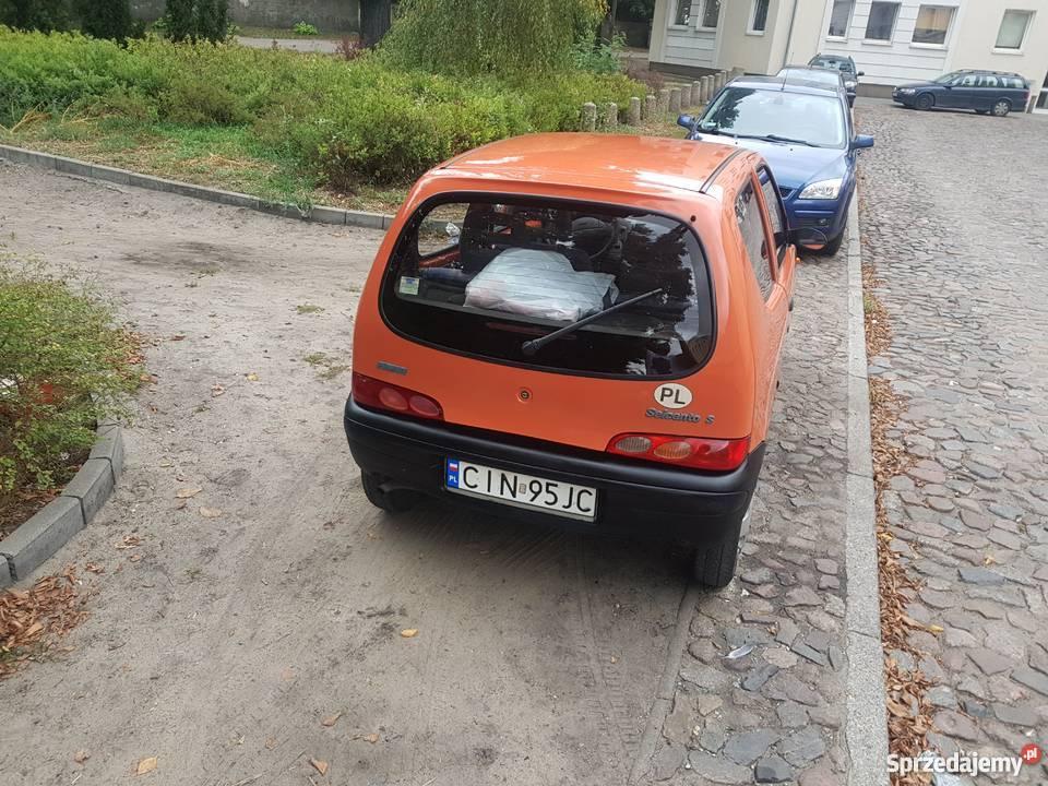 Fiat seicento zamiannaaa benzyna Bydgoszcz