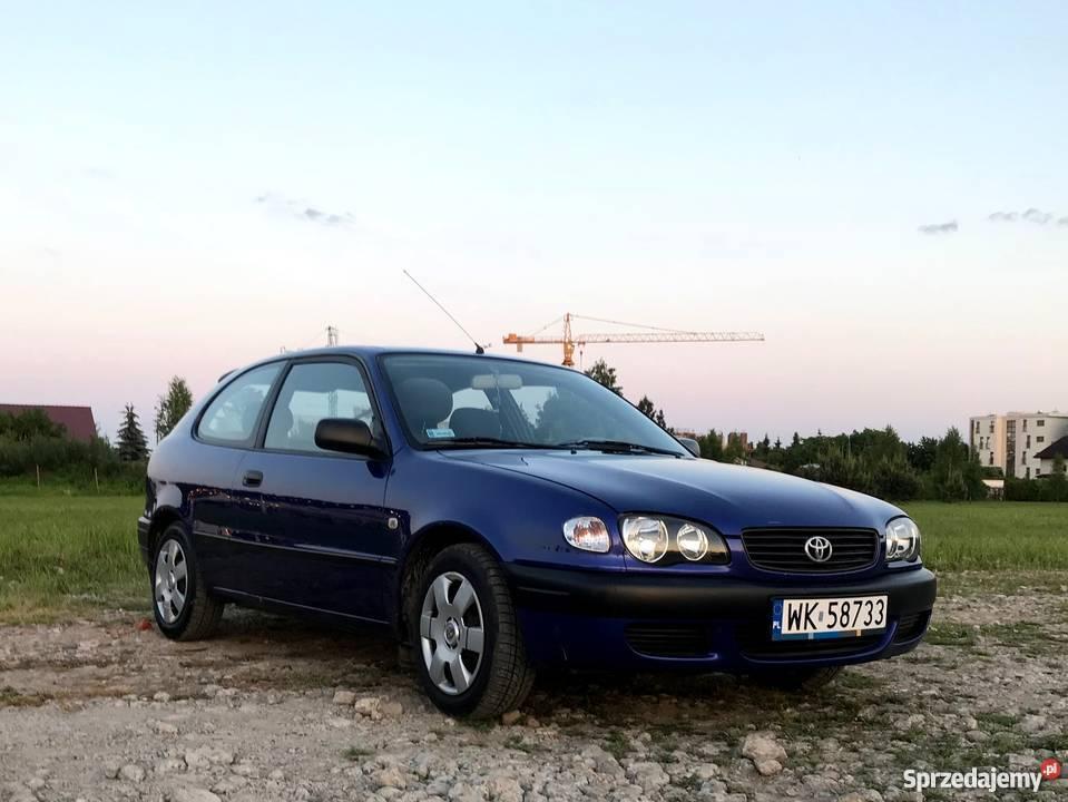 TOYOTA COROLLA 14VVTi Benzyna 2000r nieuszkodzony Warszawa sprzedam