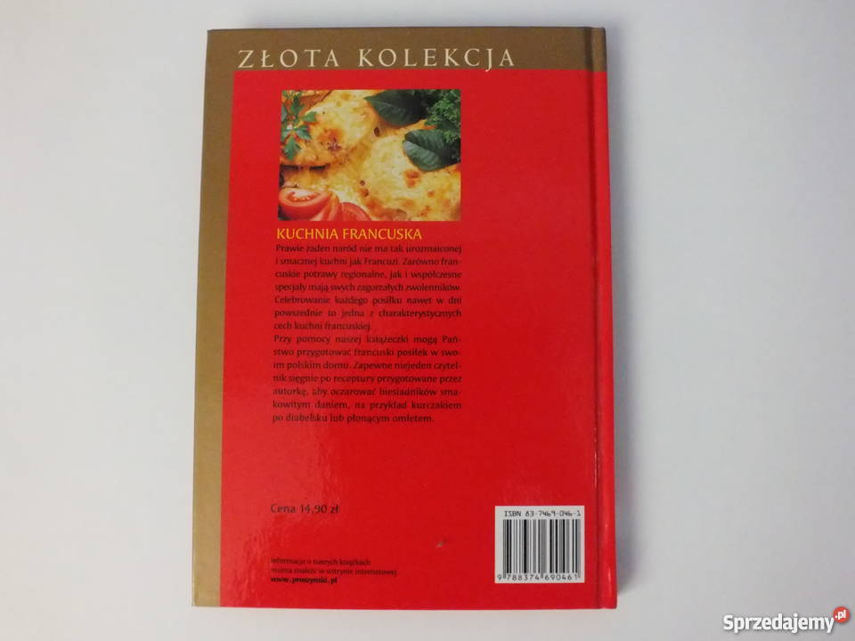 Kuchnia Francuska Janina Pasłęcka