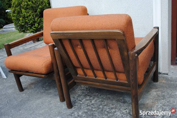 Okazja Komplet Starych Foteli Lata 70 Te Prl Piękne