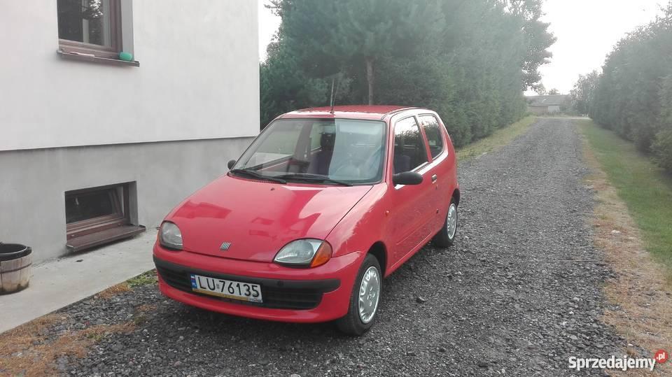Fiat Seicento LPG stan salon Lublin PT i OC na sprzedam