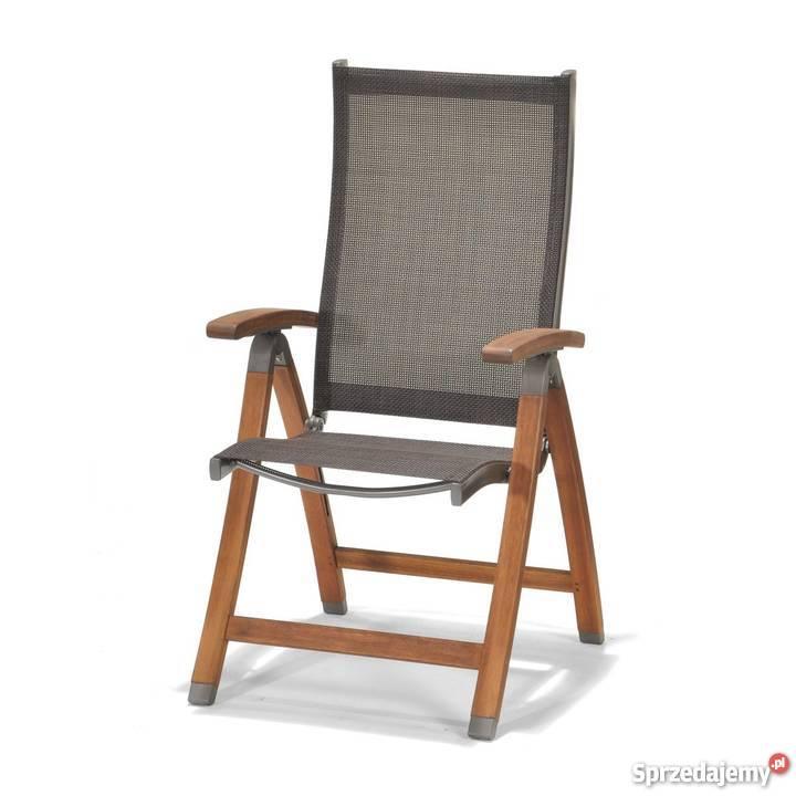 Stylowe Krzeslo Ogrodowe Składane Miami Krzesło Na Taras