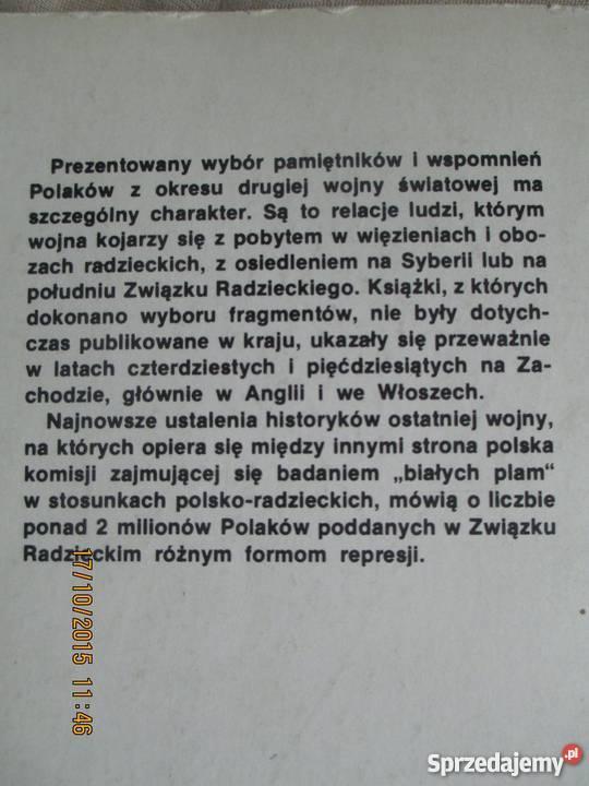 My deportowani praca zbiorowa Rok wydania 1989 Warszawa