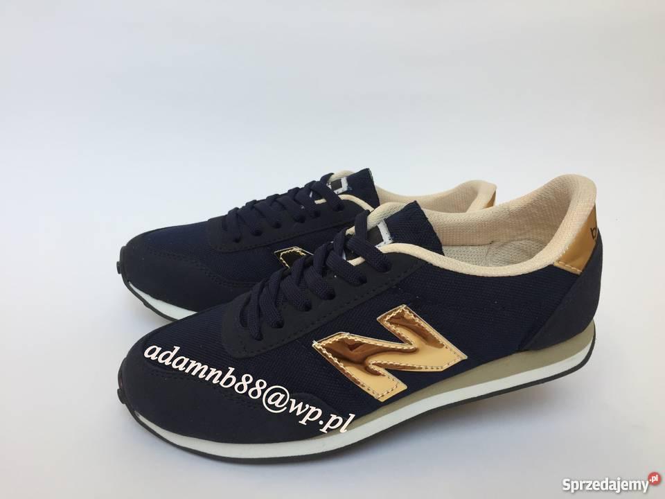 new balance 410 czarno zlote
