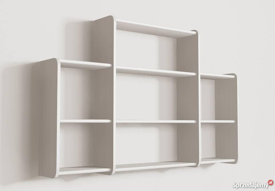 Inteligentny Półki wiszące funkcjonalne na ścianę półka ścienna Detalion AC47