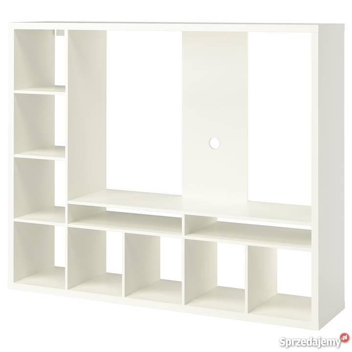Półka Ikea Lappland Pod Tv Biały