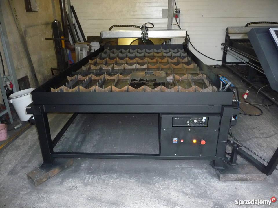 Genialny Plazma ploter wypalarka CNC przecinarka 125x250 Tarnów NJ93