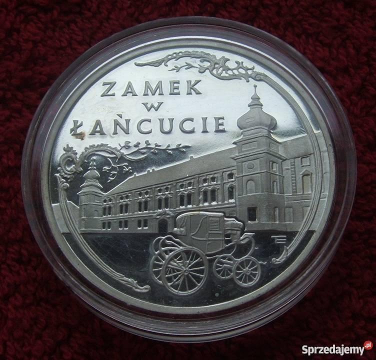 MONETA 300000 ZAMEK W ŁAŃCUCIE 1993 SREB Katowice