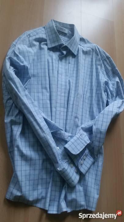 8ccbff658 43, 176-182, XL,wólczanka, lambert, koszula męska z kołnierz Kielce ...