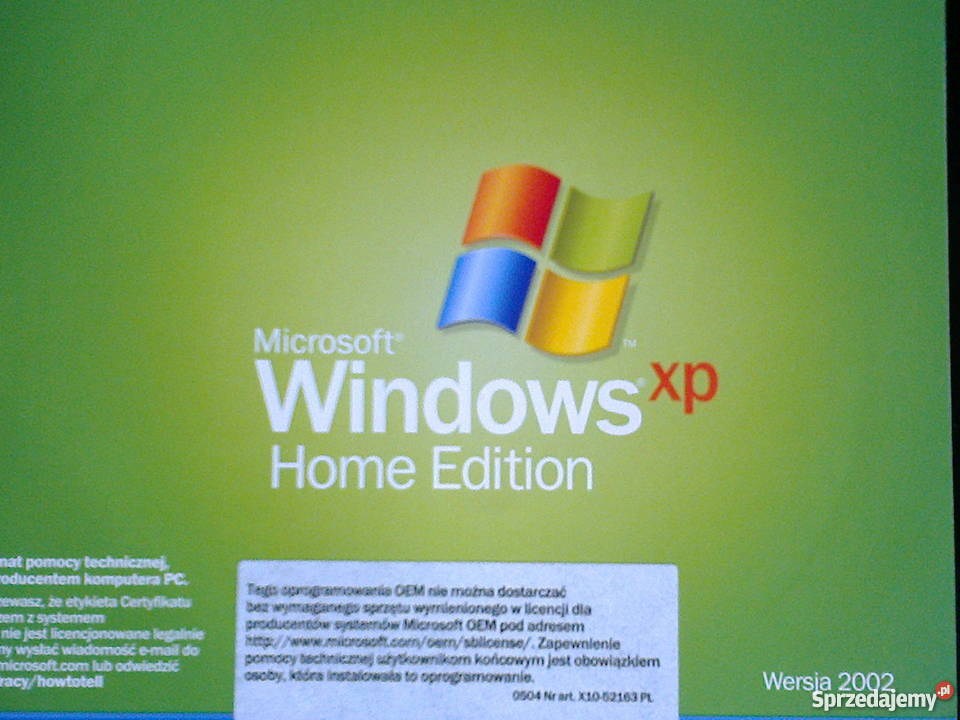 Télécharger Windows XP Home Edition SP3 iso (Gratuit ...