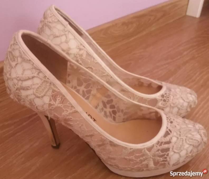 f789bc14 buty ślubne obcas 5 cm - Sprzedajemy.pl