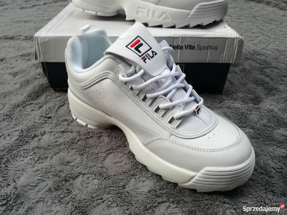 białe buty sportowe damskie Sprzedajemy.pl
