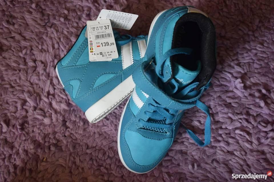 CHILLIN Nowe trampki buty damskie Adidas rozmiar 37