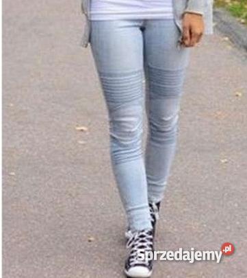 W superbly Spodnie z przeszyciami firmy reserved rozmiar 38 - Sprzedajemy.pl NW63