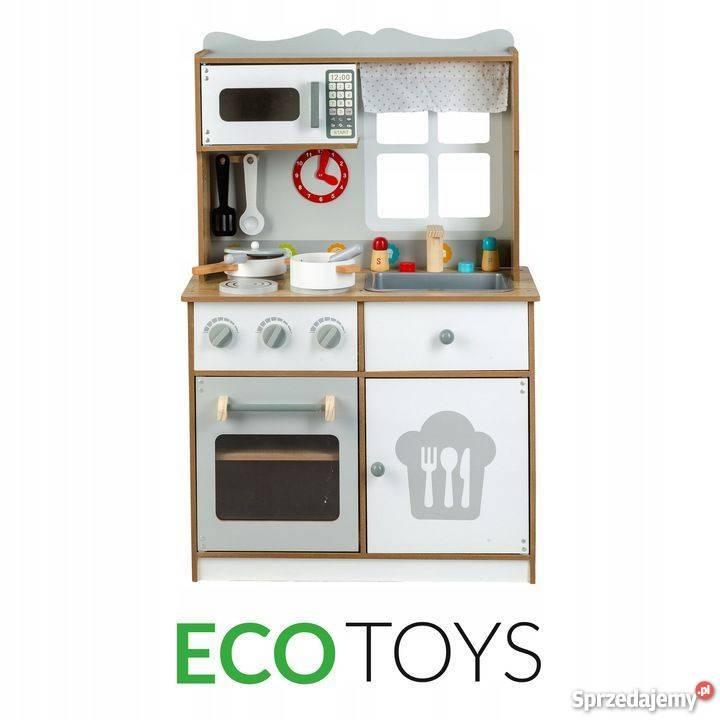 Drewniana Kuchnia Dla Dzieci 92cm Ecotoys