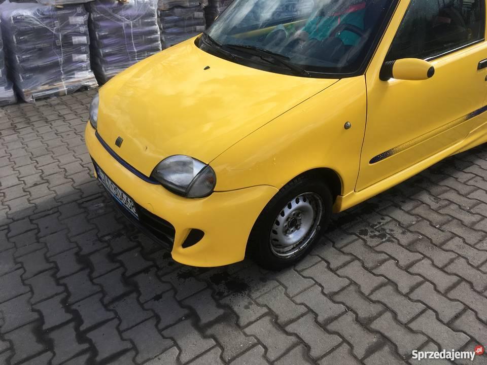 Fiat Seicento Sporting 11 SPI 228000km Twardorzeczka