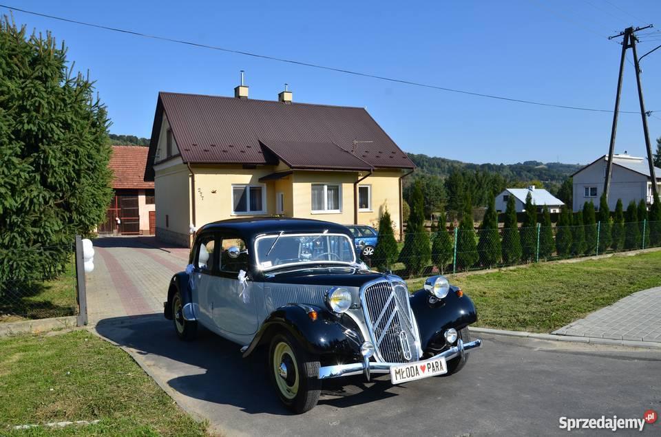 AUTO DO ŚLUBU CITROEN B11 z 1947 roku mazowieckie