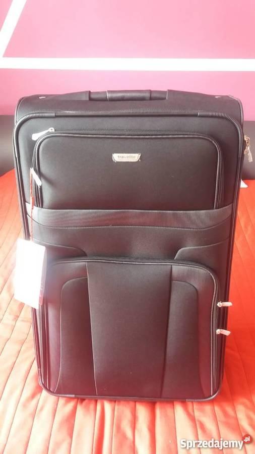 e8f5c50e0909b Nowa walizka duża Travelite Orlando 2 koła 80L Torby, plecaki i walizki  Turystyka Warszawa