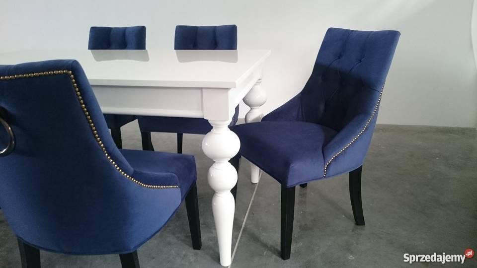 Krzesło tapicerowane pikowane z pinezkami z Stoły, krzesła, biurka Warszawa sprzedam
