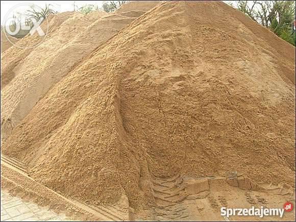 Wszystkie nowe Piasek zasypkowy Do zasypywania murowania Orzesze Rybnik Bełk TO34