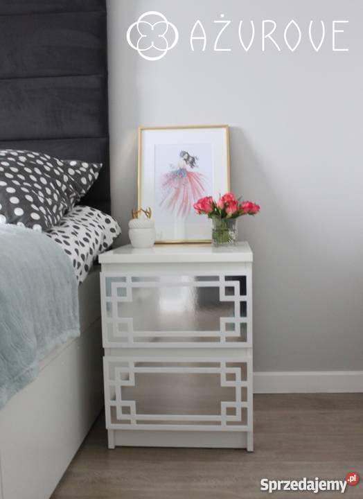 Panele Dekoracyjne Ażurowe Do Ikea Malm Szafka Nocna Lustro