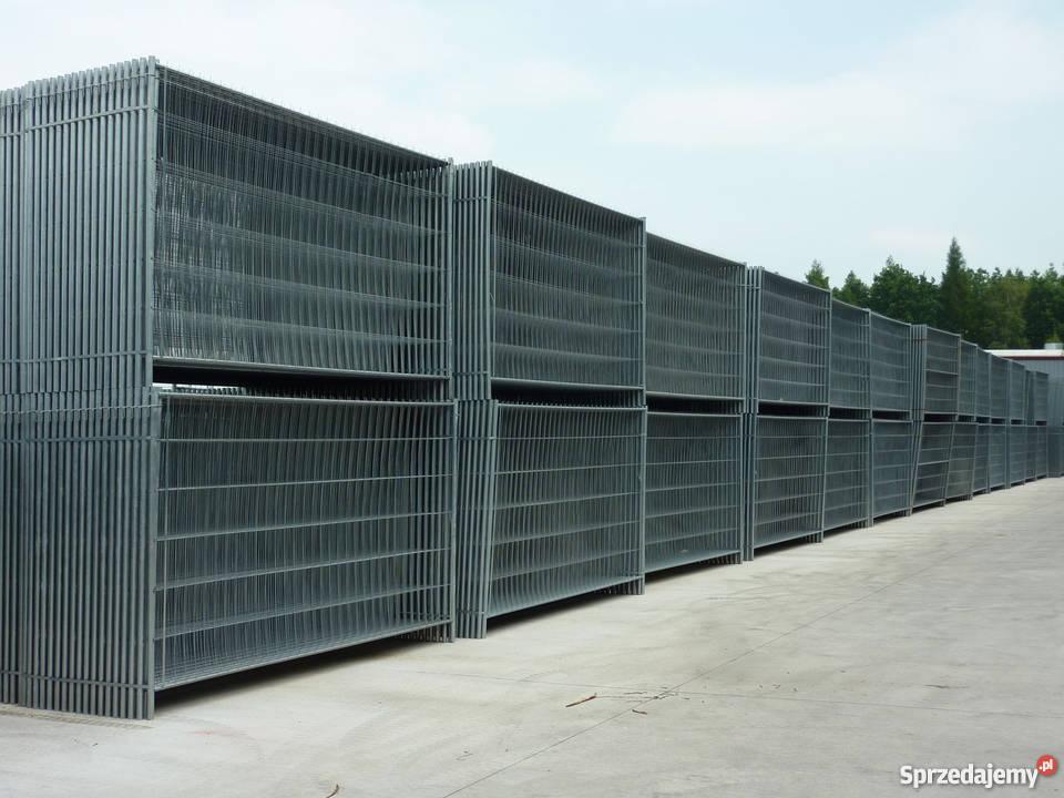 Ogrodzenia tymczasowe 7999 metal Warszawa