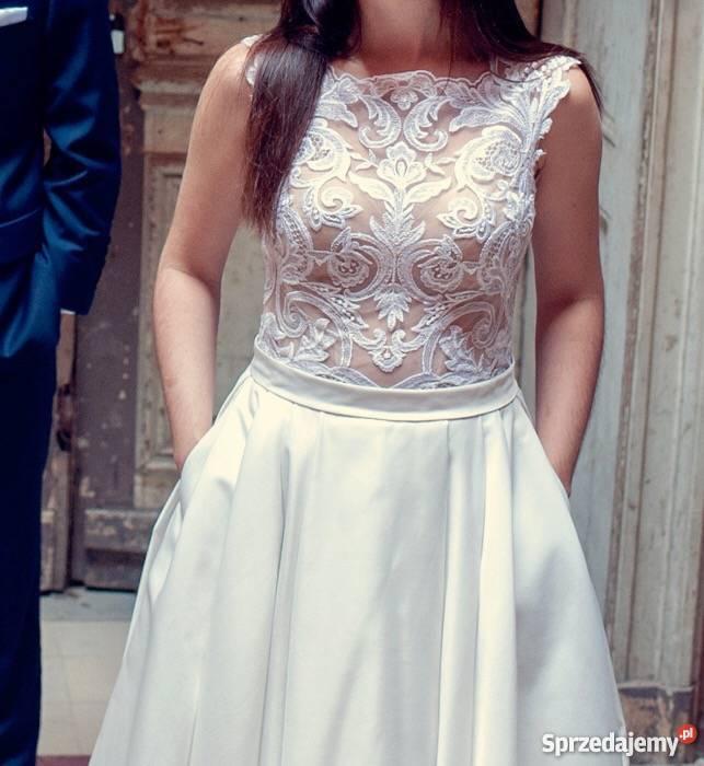 1b6d86ee78 Suknia Ślubna LANESTA ONYX Bytom - Sprzedajemy.pl
