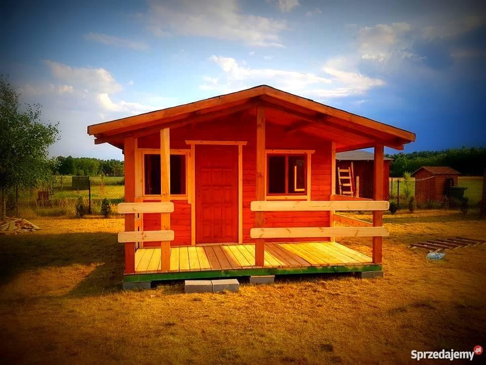 Altanka domek drewnianydomek letniskowy Architektura ogrodowa mazowieckie