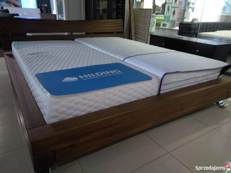 łóżko 180x200 Z Grubych Drewnianych Belek Na Dowolny Kolor