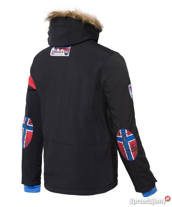 Kurtka narciarska ALPINE czarna męska marki