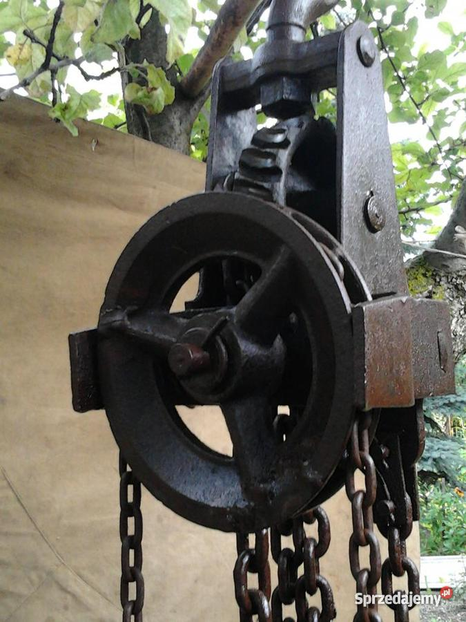 Wciągarka łańcuchowa Chełm