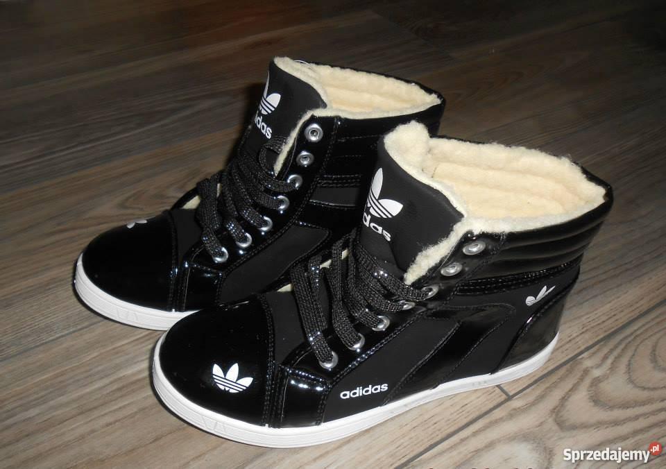 Adidas ocieplane buciki