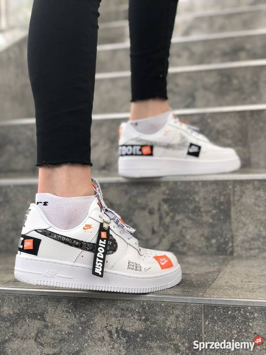 Nike Air Force 1 Low Just Do It Pack White r36 40