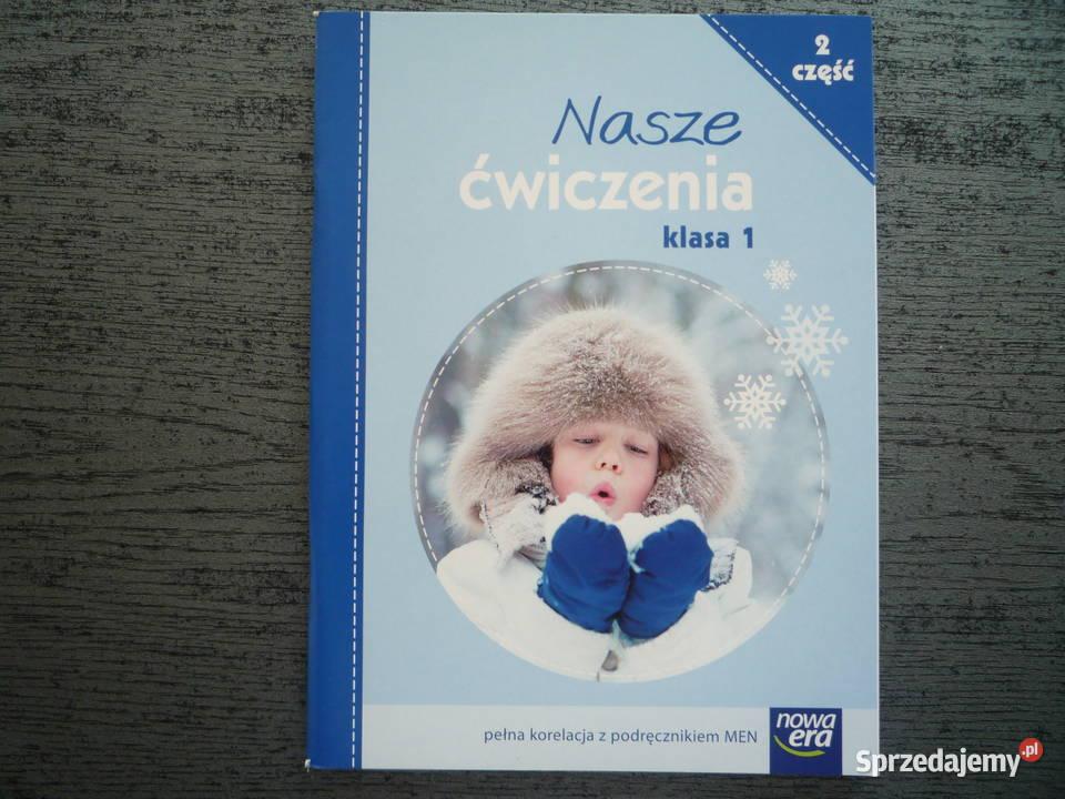 NOWE Nasze ćwiczenia 1 część 2 Klasa 1 J. polski Nowa Era
