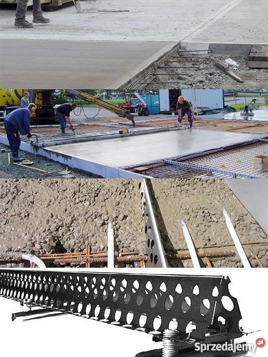 Ogromnie Combiform prowadnice stalowe do betonowania posadzki wylewki KT13